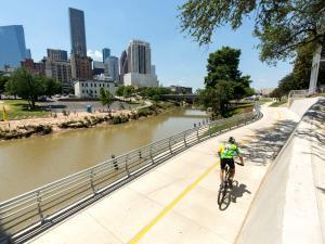 Buffalo Bayou Hike and Bike Trail 300x225