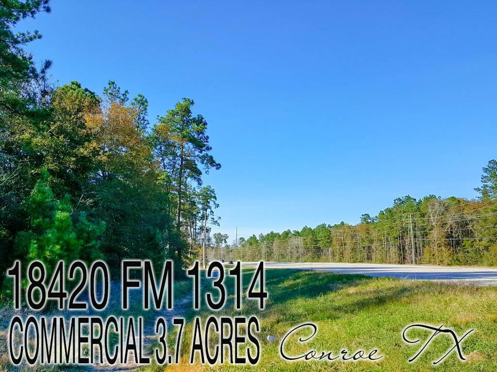 18420 FM 1314, Conroe, Texas 77302, ,Lots,For Sale,FM 1314,30959740